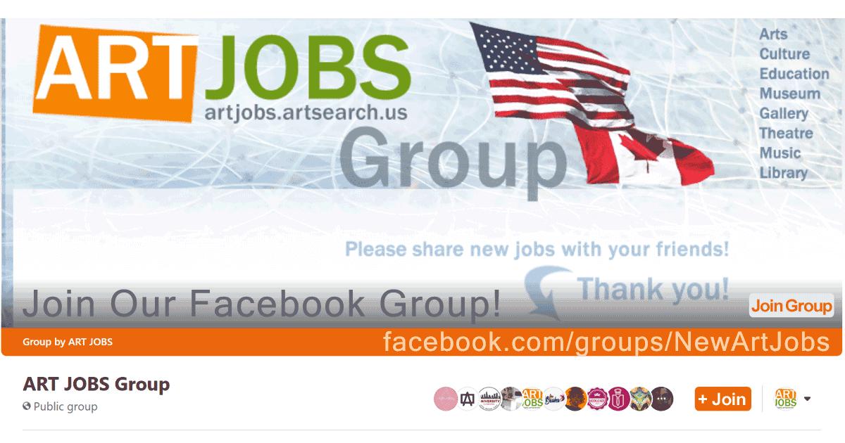 ART JOBS Group on facebook